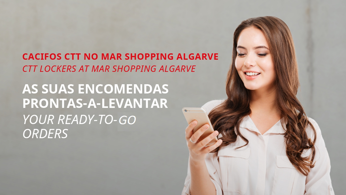MAR Shopping Algarve and CTT Lockers offer collection point for online shopping
