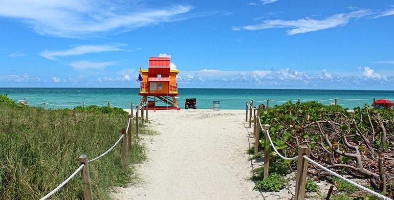 Miami Is Auctioning Off the Ultimate Beach Souvenir: A Pair of Its Iconic Lifeguard Towers