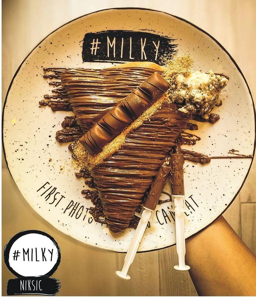 Milky Pancake House Opened in Niksic