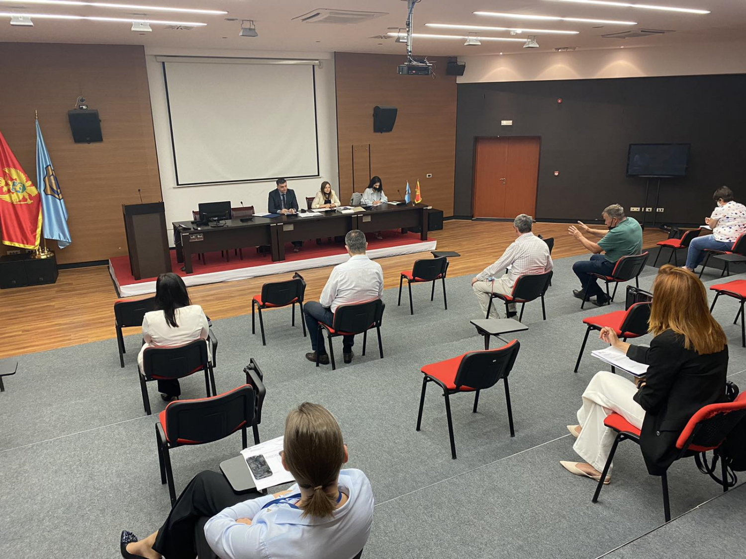 Tivat Travel Board - Press from the Assembly