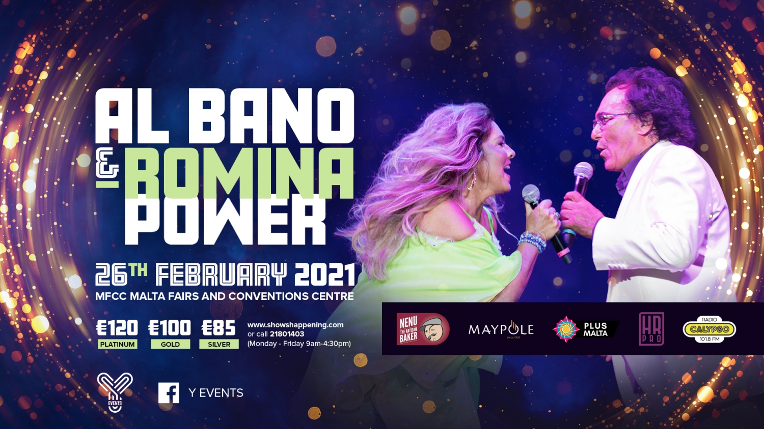 AL BANO AND ROMINA POWER IN CONCERT