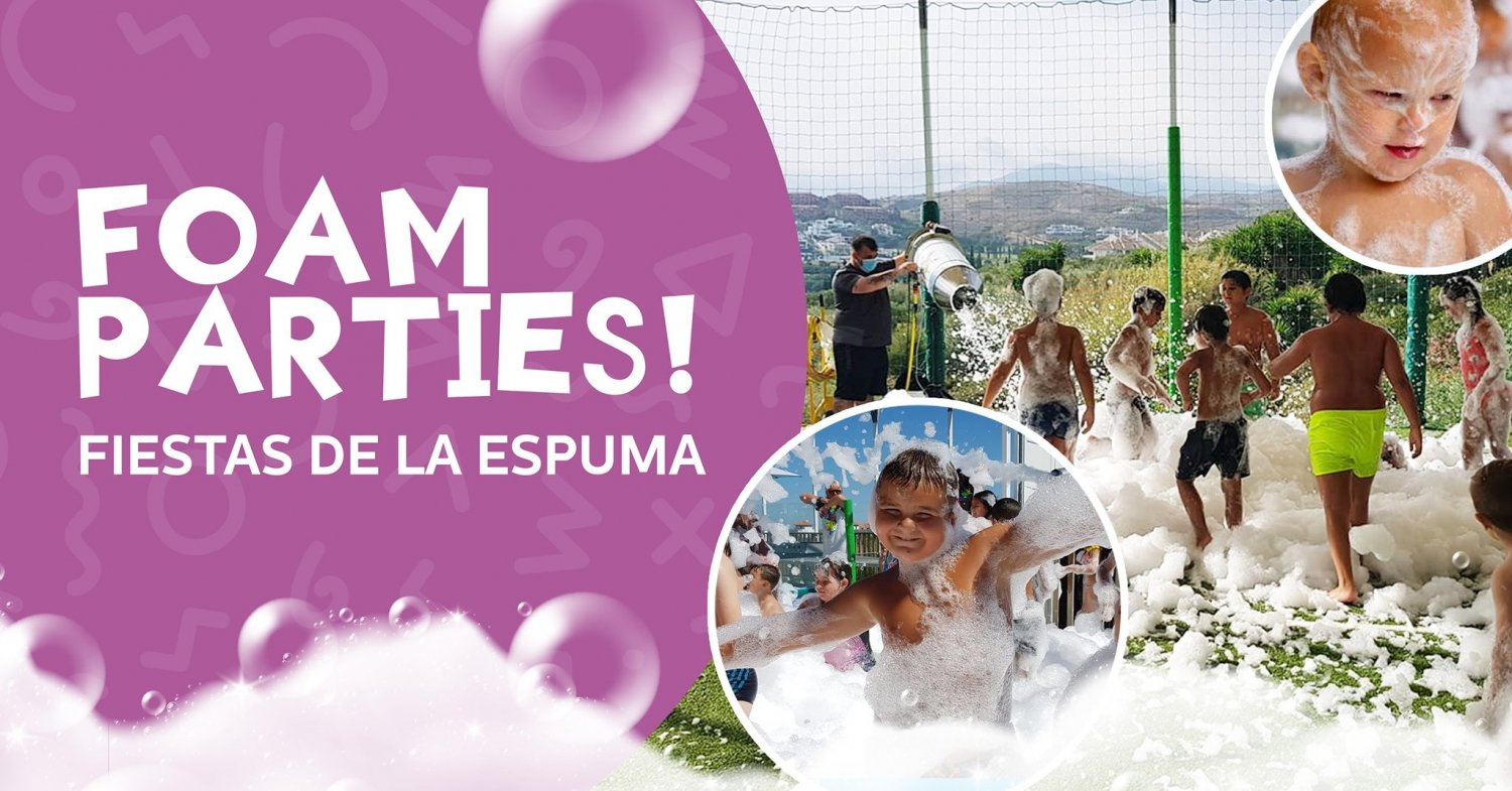 Foam Parties at Mundo Manía