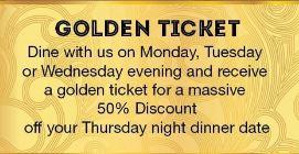 Golden Ticket Offer at Yanx