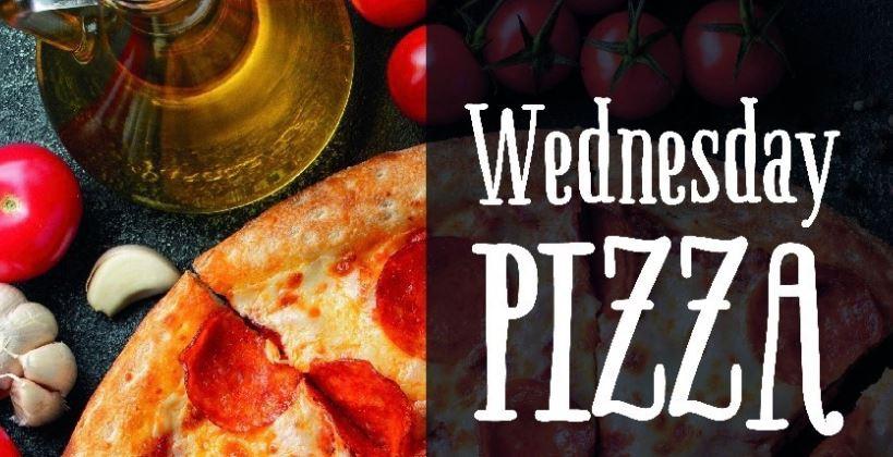 Half Price Pizza Wednesday at Los Arcos
