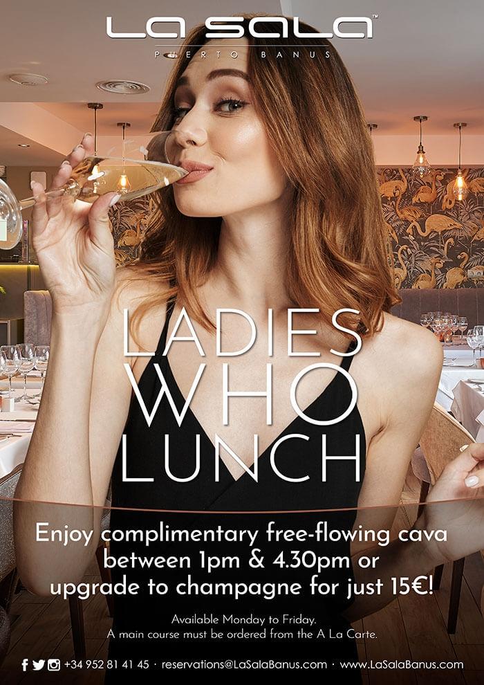 Ladies who Lunch at La Sala