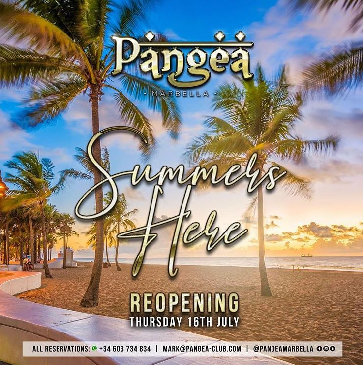 Pangea Opening weekend