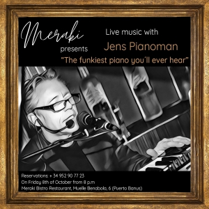 Live Music with Jens Pianoman at Meraki