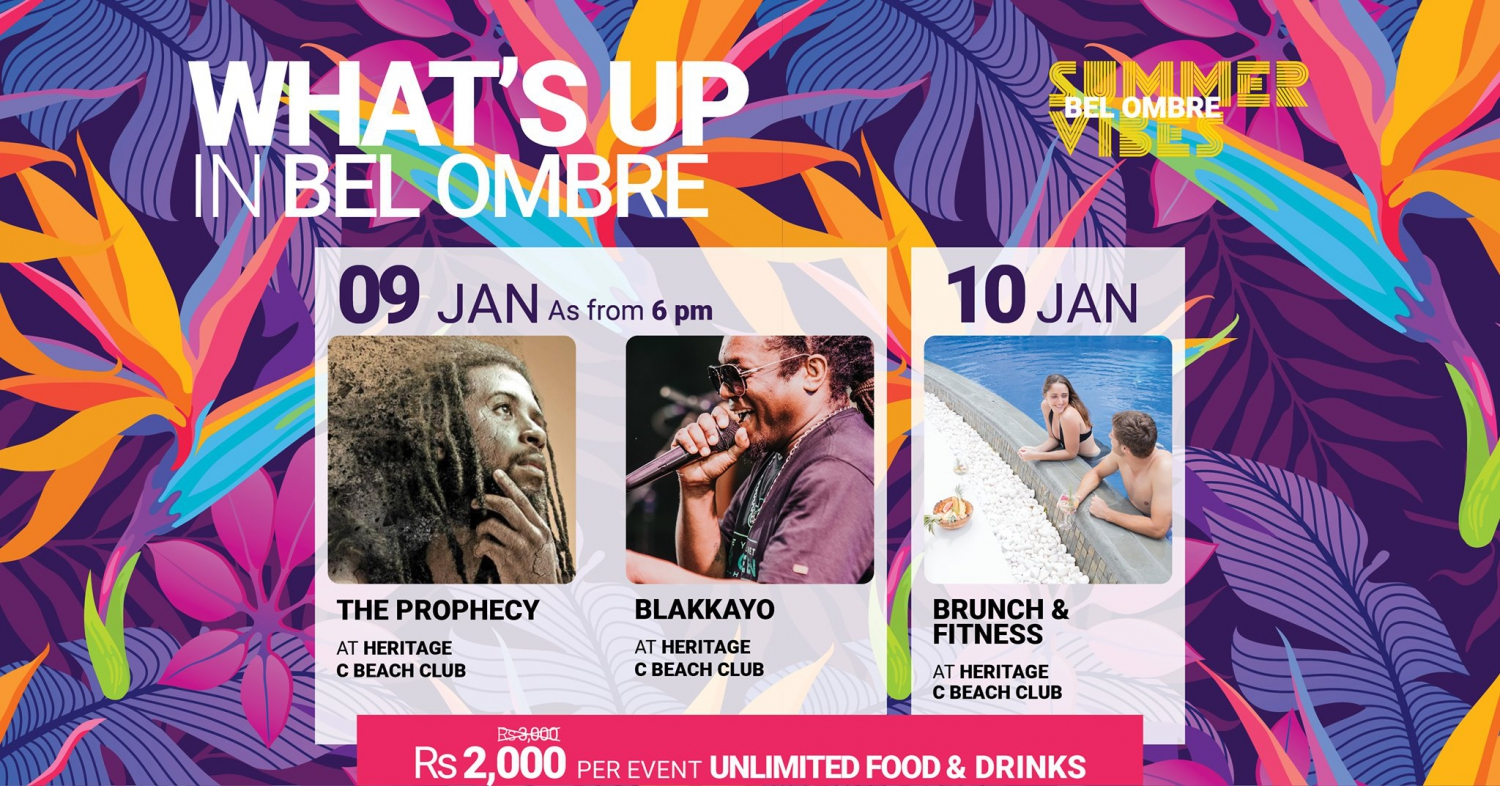 #6 WHAT'S UP IN BEL OMBRE - 09 -10 JANUARY 2021
