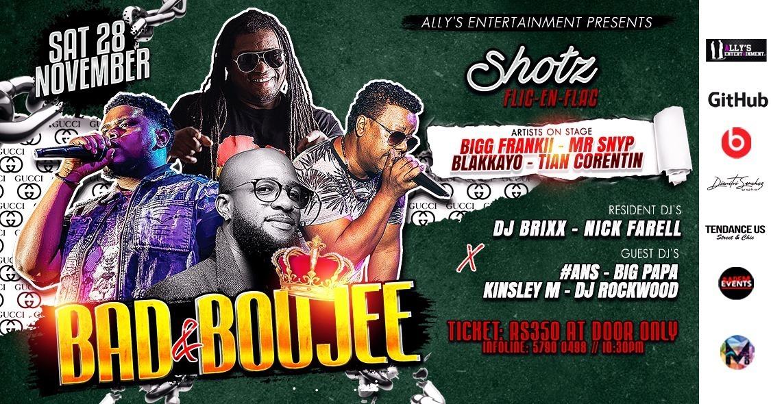 Bad And Boujee at Shotz