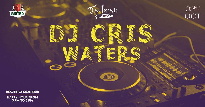 Cris Waters 3rd Oct at The Irish