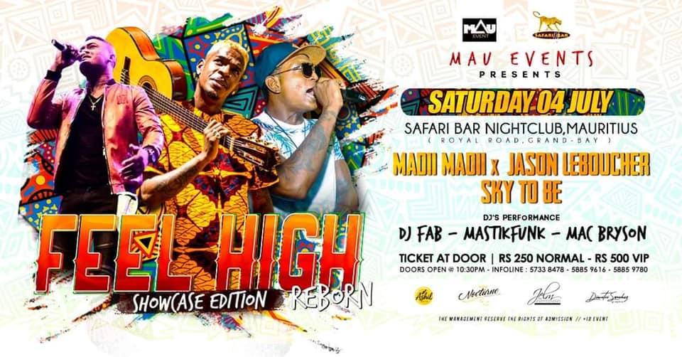 FEEL HIGH REBORN x (showcase edition) 04 July 20