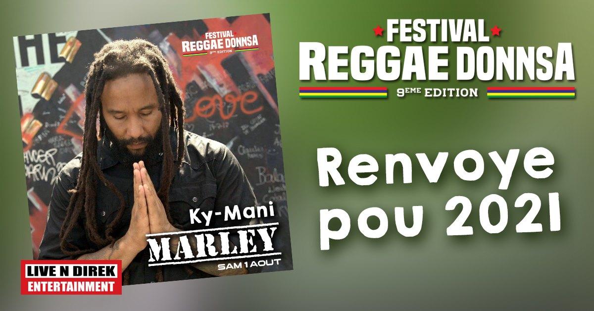 Festival Reggae DonnSa 9 Ky-Mani Marley