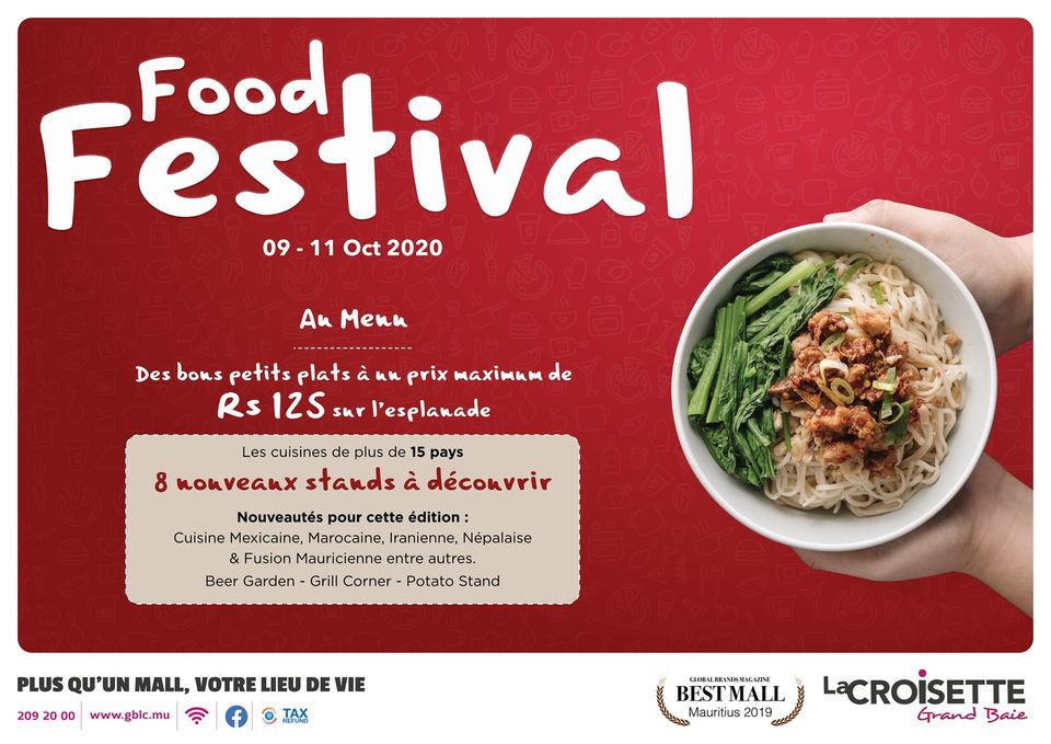 Food Festival at Grand Baie La croisette - 8th Edition