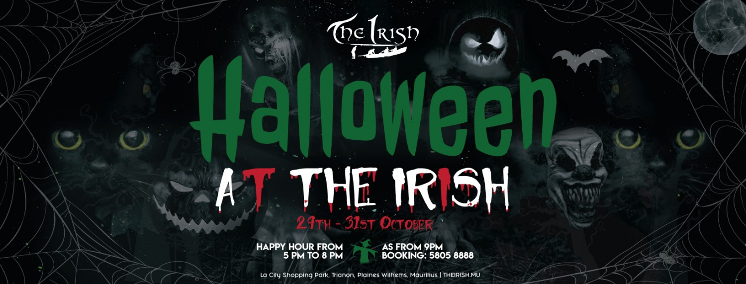 Halloween 2020 / The Irish / 31st October