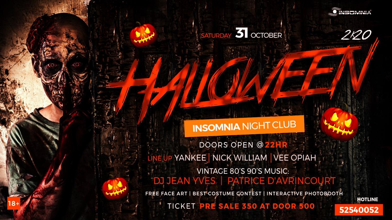 Halloween At Insomnia 2020