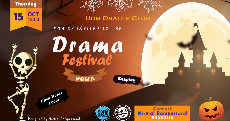 Halloween Themed Drama Festival