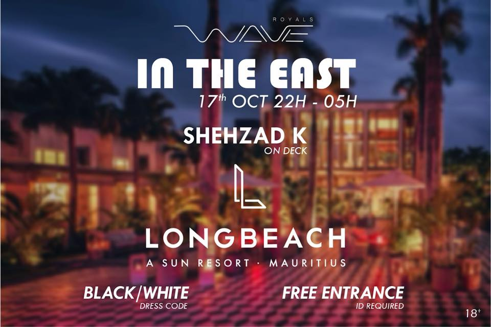 IN THE EAST at Long Beach by Royal Waves