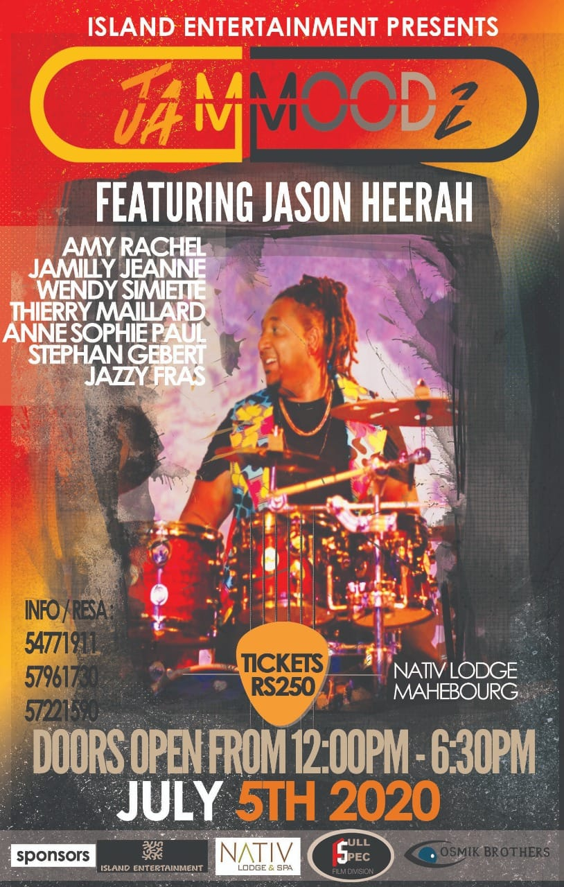 JamMoodz featuring Jason Heerah at Nativ Lodge & Spa