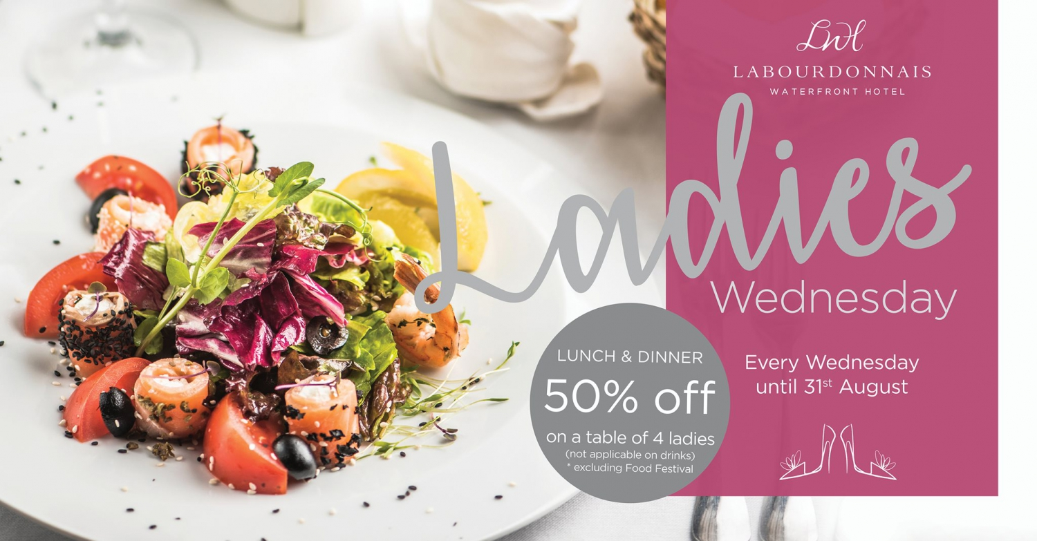Ladies Wednesday at Labourdonnais Waterfront Hotel