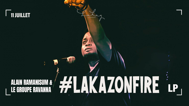 Lakaz on Fire -Alain Ramanissum & le groupe Ravanna x LP