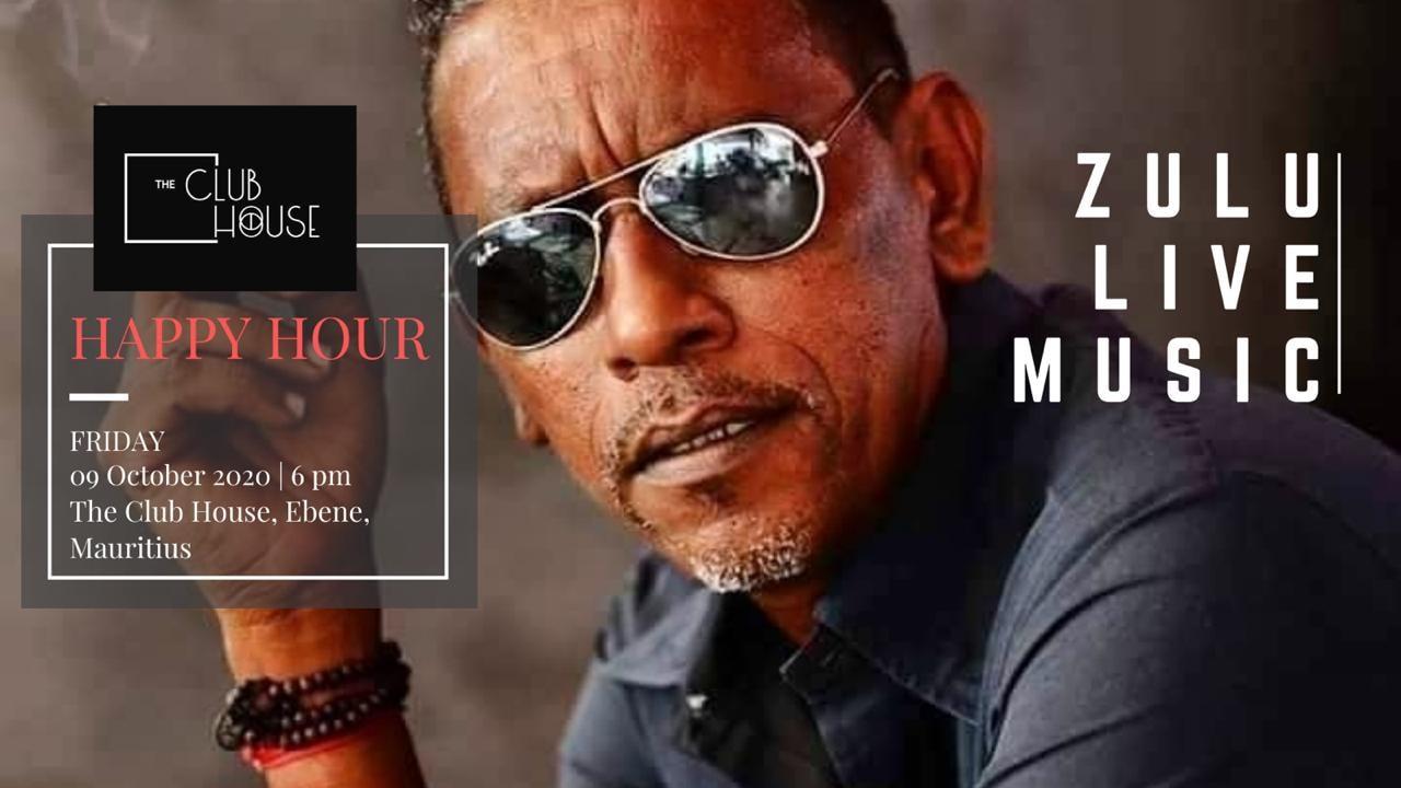 Lokal Vibe : Zulu LIVE @ THE CLUB HOUSE