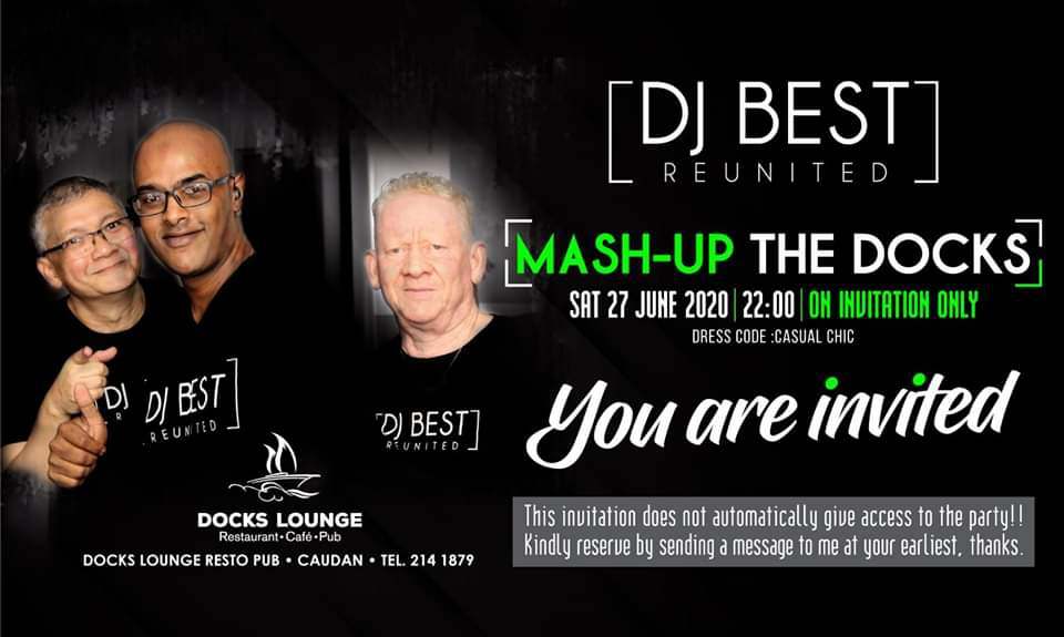 Mash-Up The Docks...DON'T MISS IT!