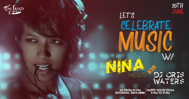 Music Day Nina Hellis 20th June The Irish