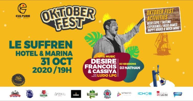 Oktober Fest - Désiré François & Cassiya - Suffren Marina Hotel