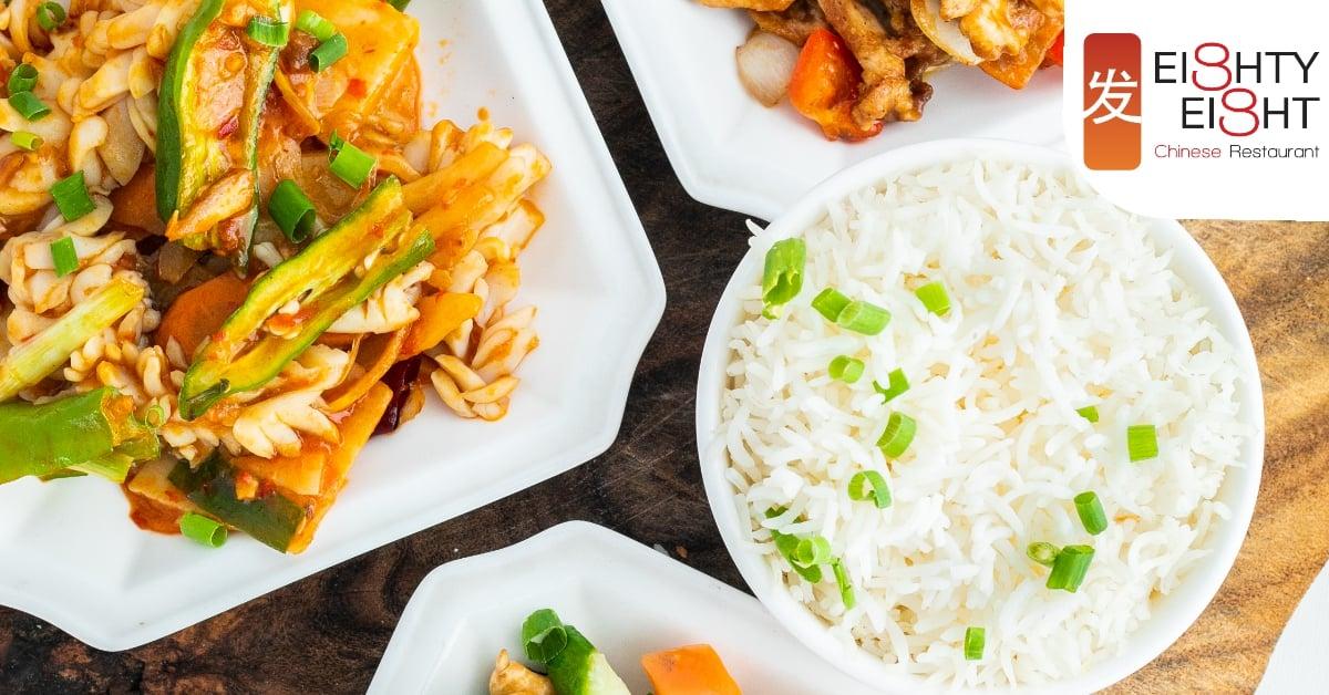 Open Buffet at Eighty Eight Chinese Restaurant
