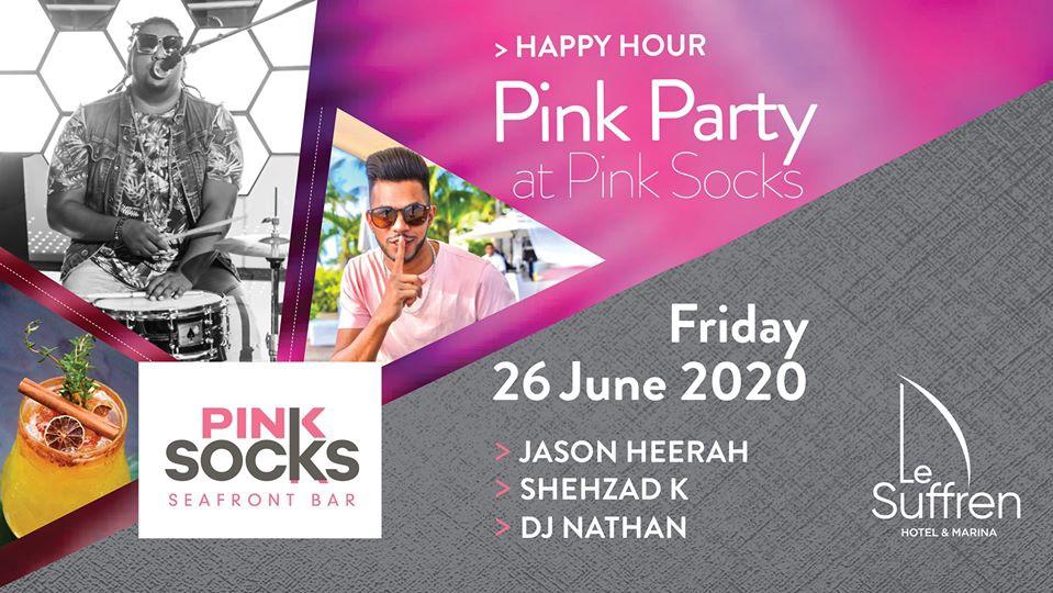 Pink Party at Pink Socks