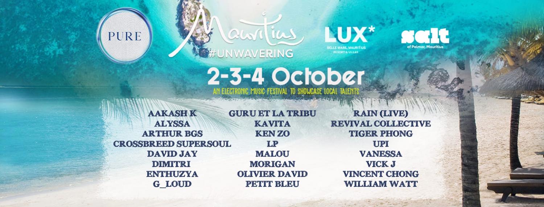 PURE at LUX* Belle Mare & SALT of Palmar 'Mauritius Unwavering'