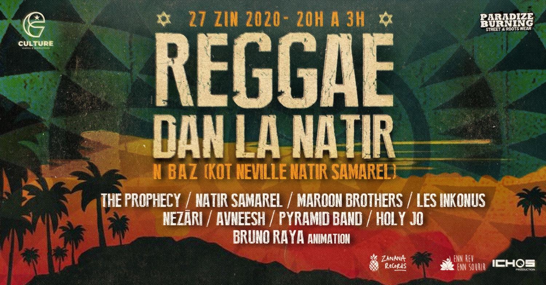 Reggae Dan La Natir Chamarel