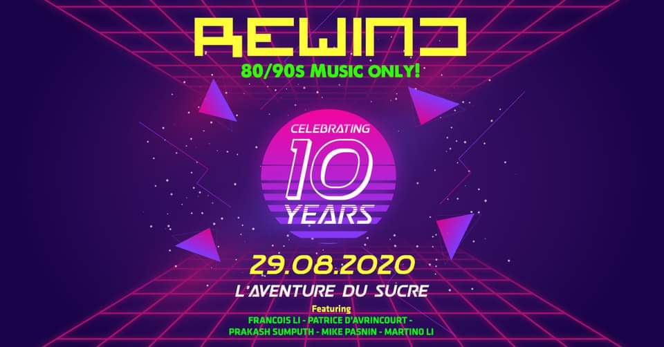 Rewind 80's / 90's - Celebrating 10 years - Ep 10