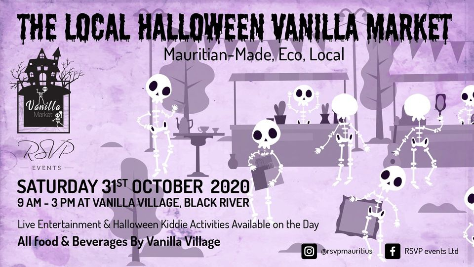 The Local Vanilla Halloween Market