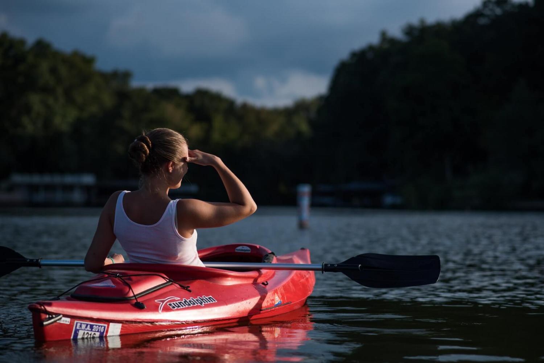 Kayaking Alone