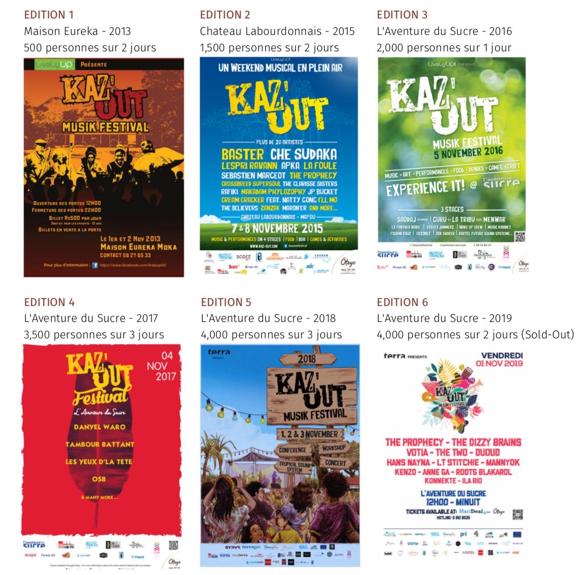 Kaz'Out Festival Mauritius