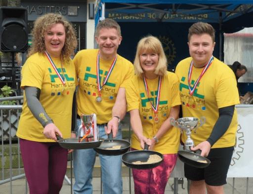 Charity Pancake Race