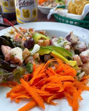 Fusion Beach Bar Cuisine