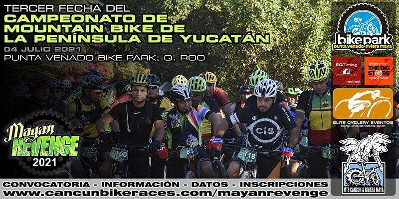 3er Fecha del Campeonato de Mountain Bike de la Península de Yucatán