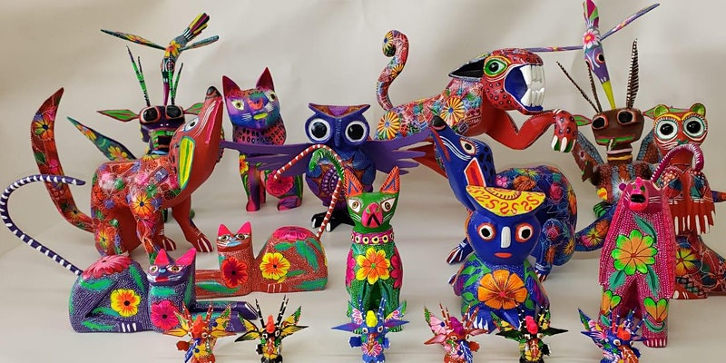 Paint Your Own Alebrije with Puech Ikots Carlos Orozco