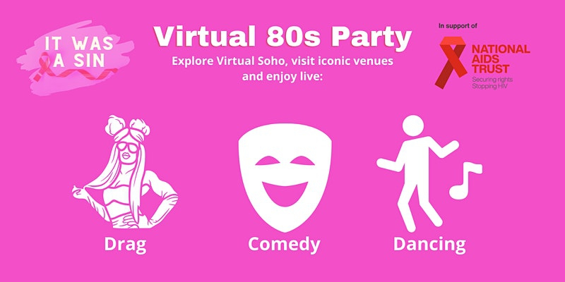It Was a Sin! - Virtual 80s Party