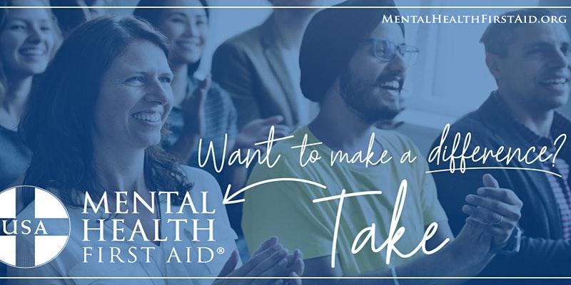 Mental Health First Aid Adult Training USA