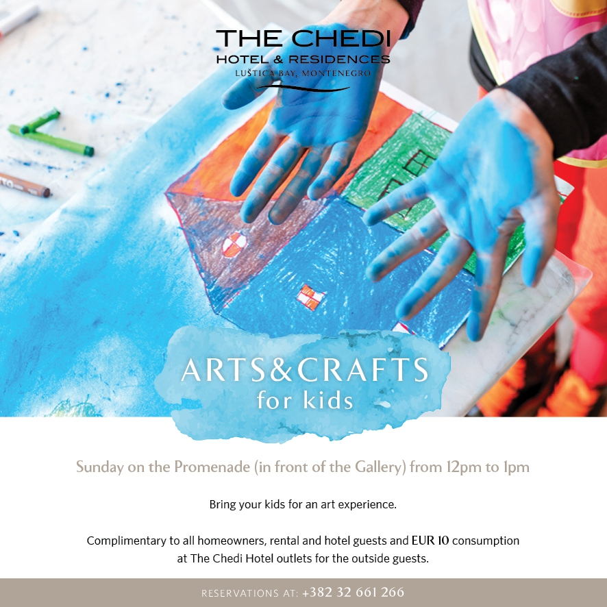 Arts & Crafts For Kids at The Promenade