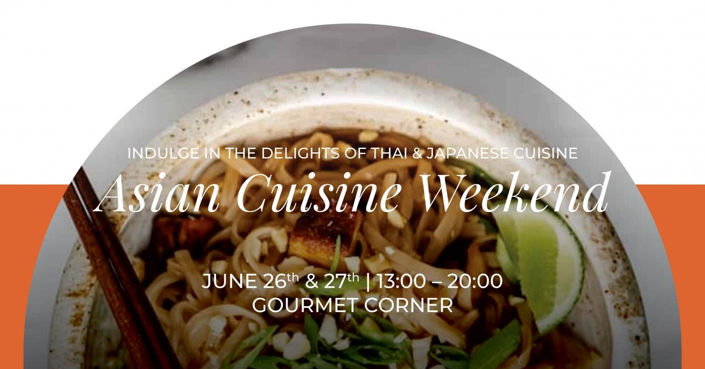 Asian Cuisine at Gourmet Corner