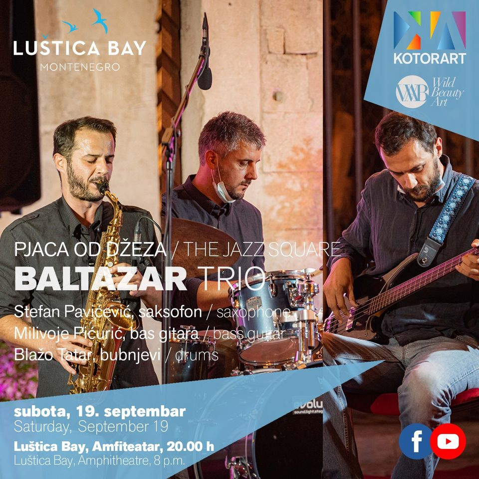 Baltazar Trio at The Jazz Square - Lustica Bay