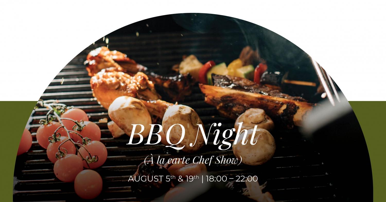 BBQ Night (A la carte Chef Show) at Regent Porto Montenegro