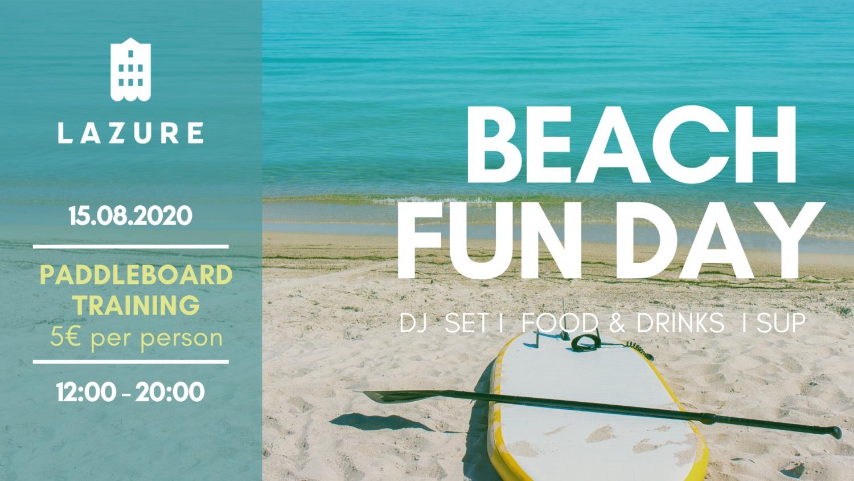 Beach Fun Day at Lazure