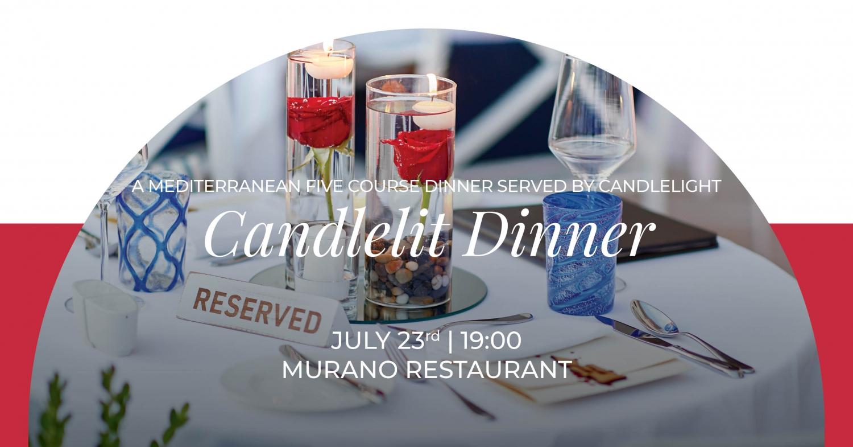 Candlelit Dinner at Murano Restaurant
