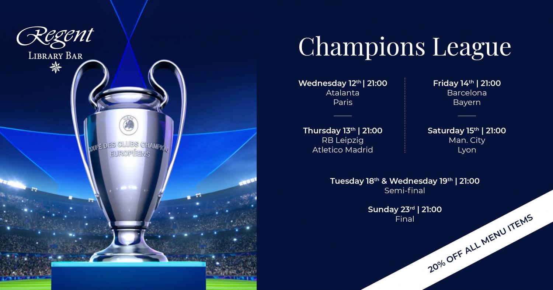 Champions League at Library Bar