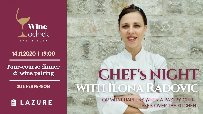 Chef's Night with Ilona Radovic